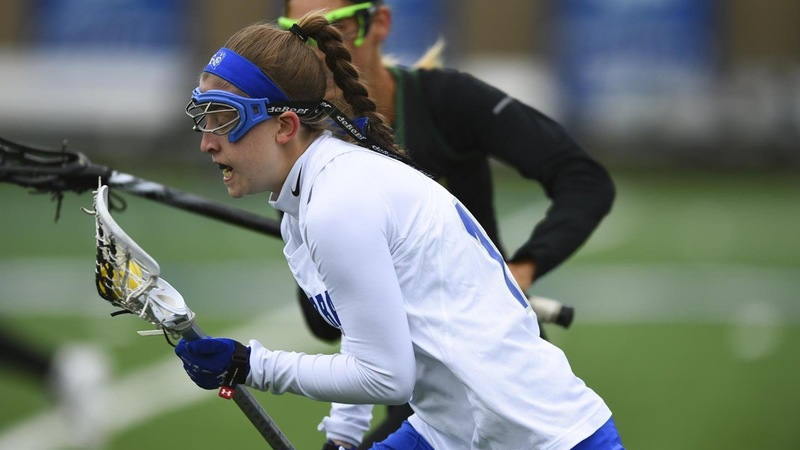 Women's Lacrosse Offense Explodes in Home Victory Over Saint Mary's