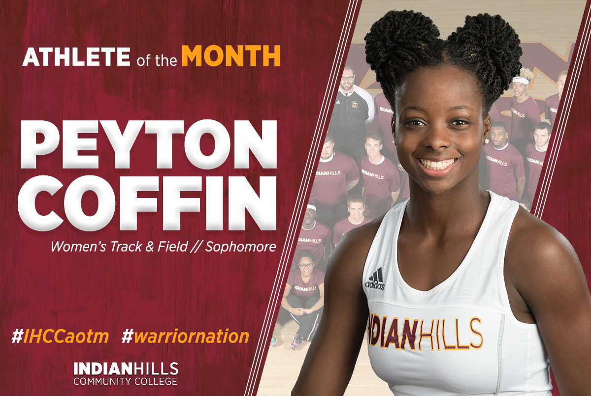 Peyton Coffin - Athlete of the Month