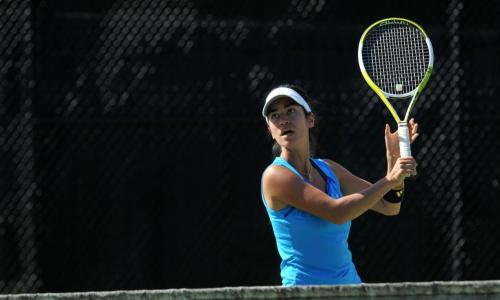 Women's Tennis Sweeps Anna Maria, 9-0 In GNAC Action