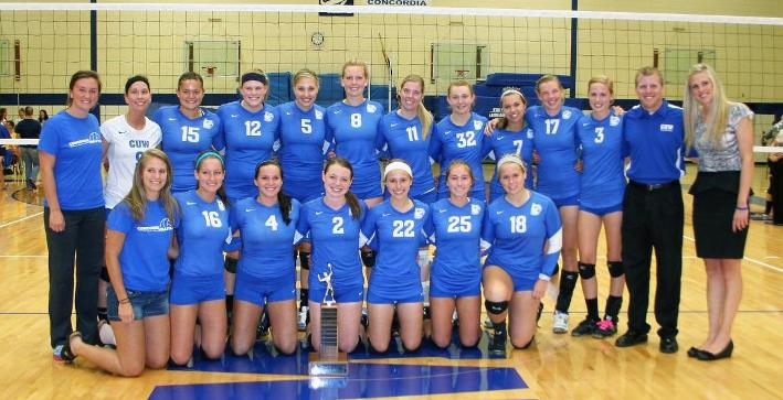 Volleyball wins CIT in dominating fashion to begin season
