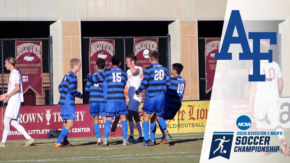 Air Force Upsets 15th-seeded Denver, 2-1