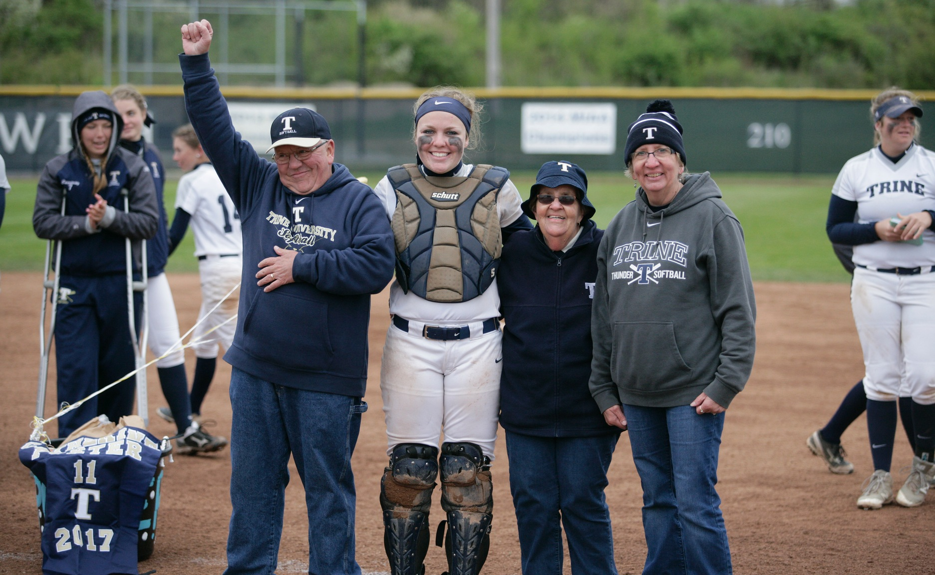 Fox Sets Home Run Record as Thunder Earn Sweep On Senior Day