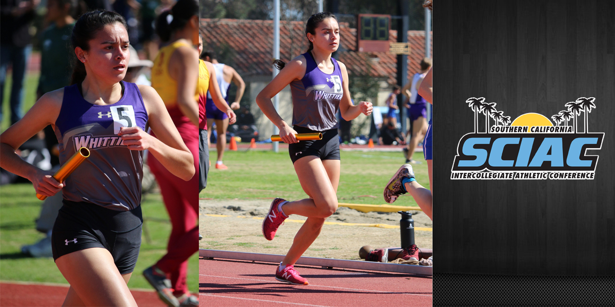 Anahy Covarrubias named SCIAC Athlete of the Week