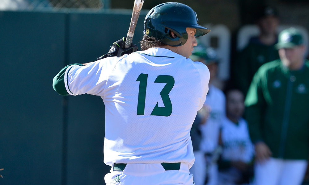 BASEBALL BLASTS FIVE HOME RUNS IN 9-0 WIN AT SEATTLE U