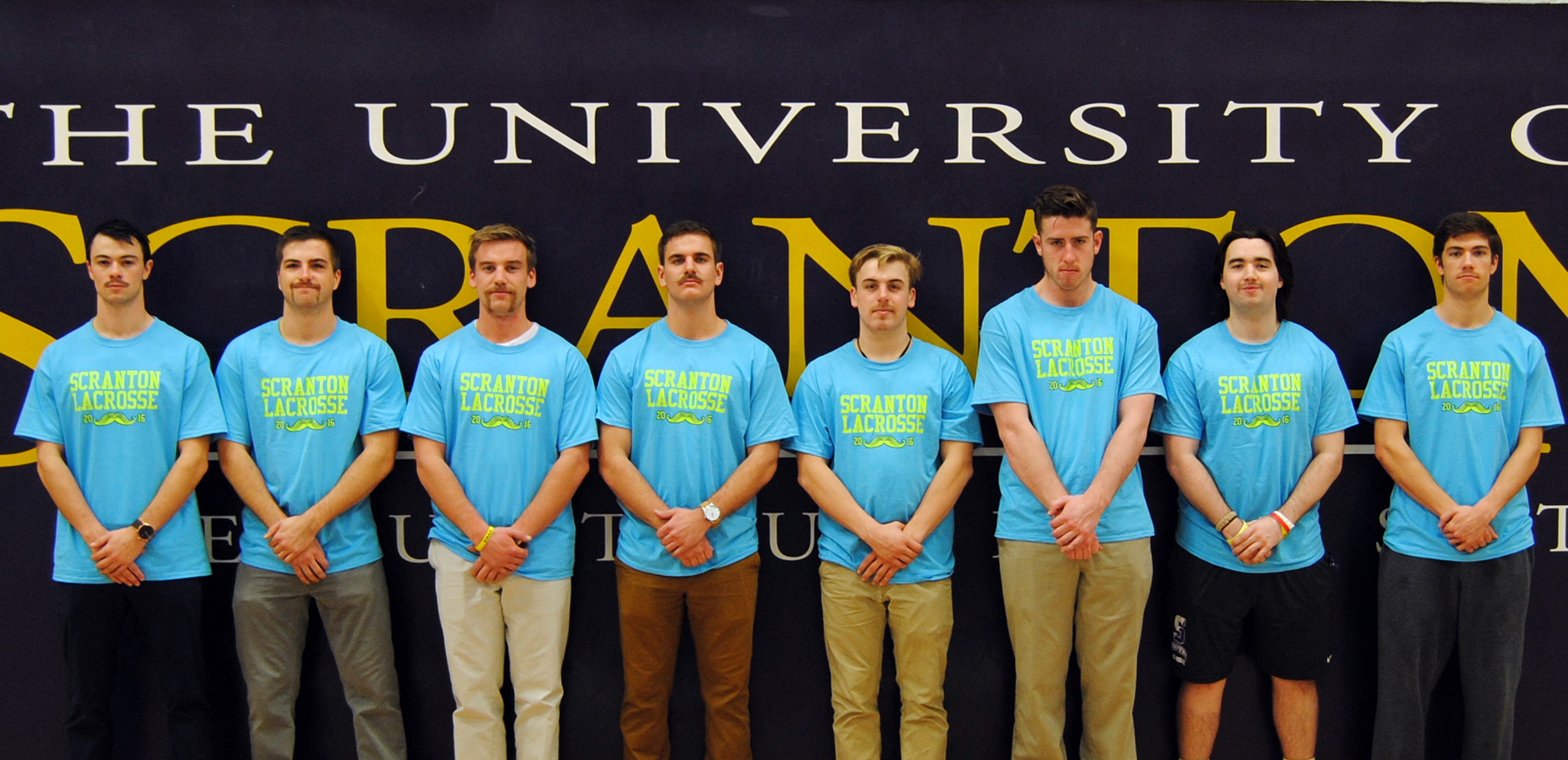 Men's Lacrosse Sports Mustaches, Raises More Than $7,000 To Support HEADstrong Foundation