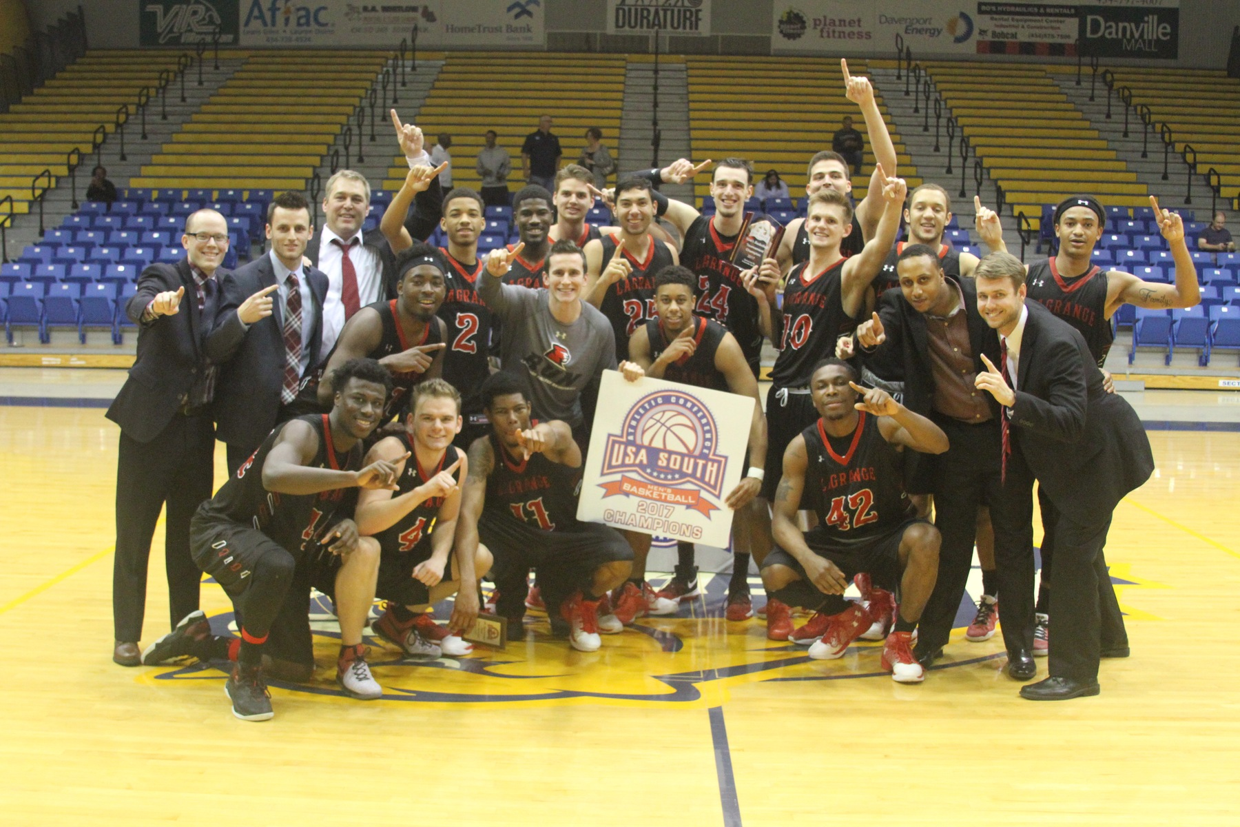 Men's Basketball: CHAMPIONS! Panthers roll past Methodist 75-56 to capture USA South Tournament title