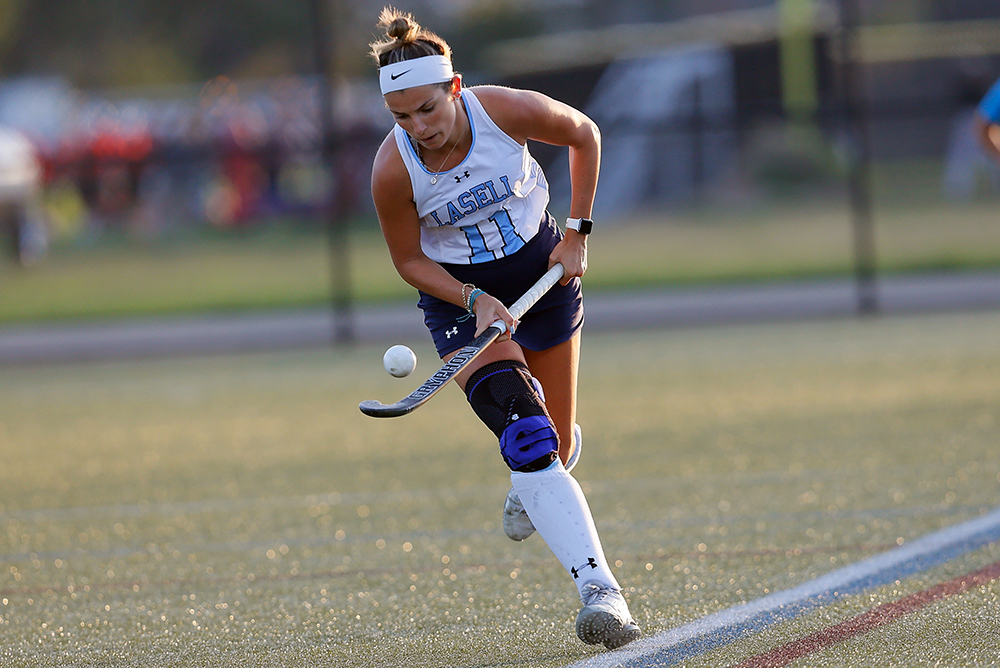FH: Lasell nips NEC in overtime; Taylor wins it for Lasers