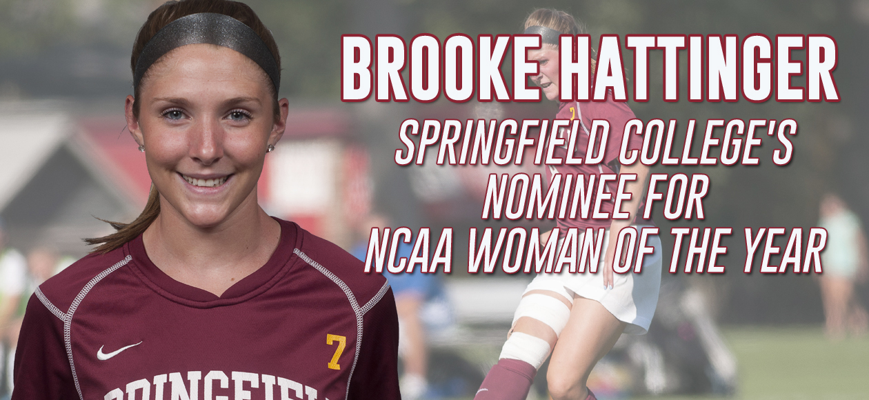 Hattinger Named Springfield College's Nominee for NCAA Woman of the Year