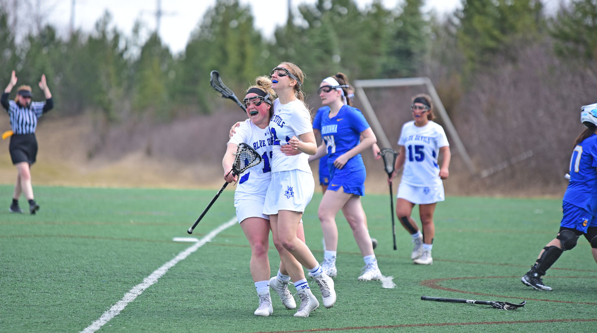 NO. 8 Blue Devils Win Seven in a Row With 24-1 Win Against Bethel Pilots; Prepare for NO. 4 Indiana Tech Saturday