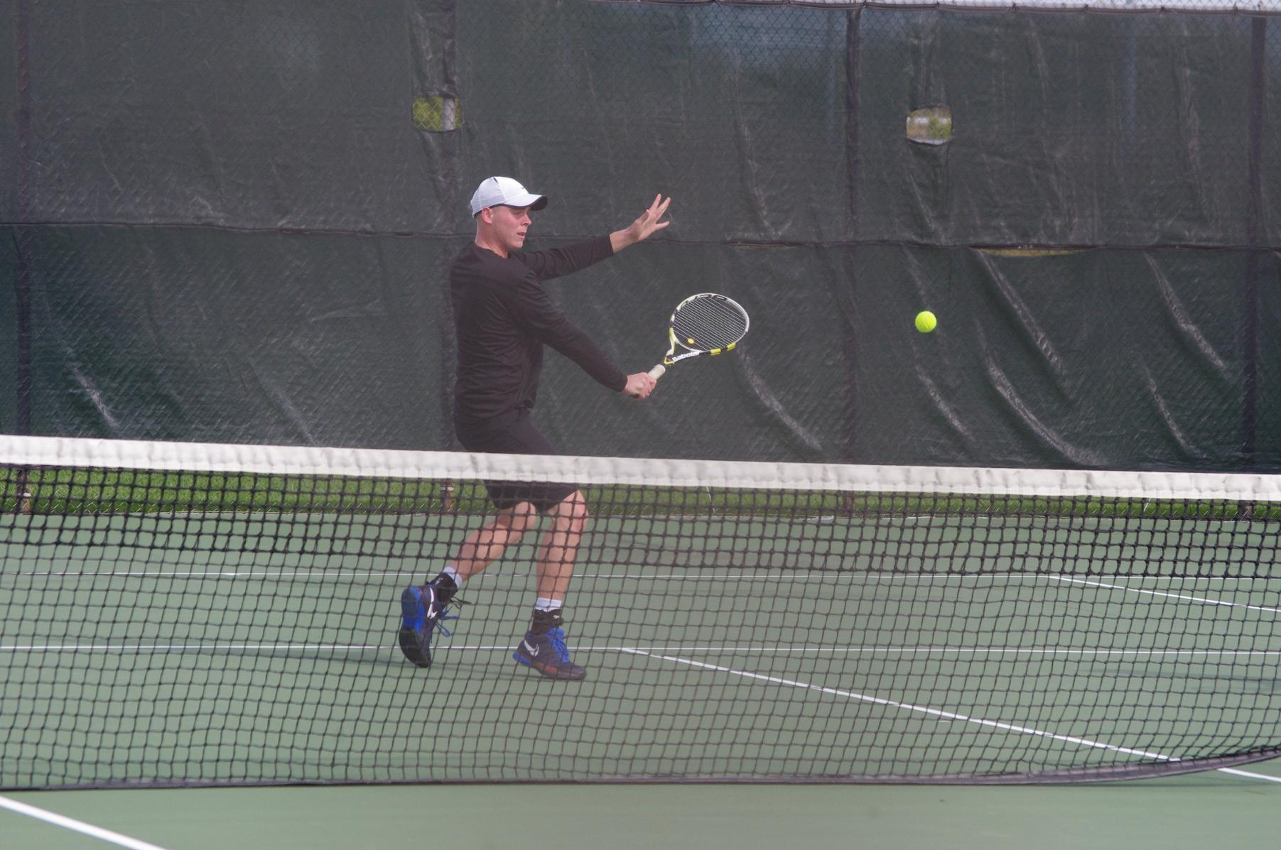 Men's Tennis Defeats Daemen to End Fall Season