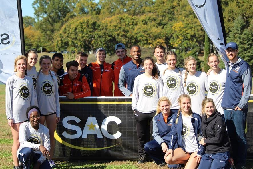 SAC Cross-Country Championships conclude with a trio of Eagles earning All-Conference Honors
