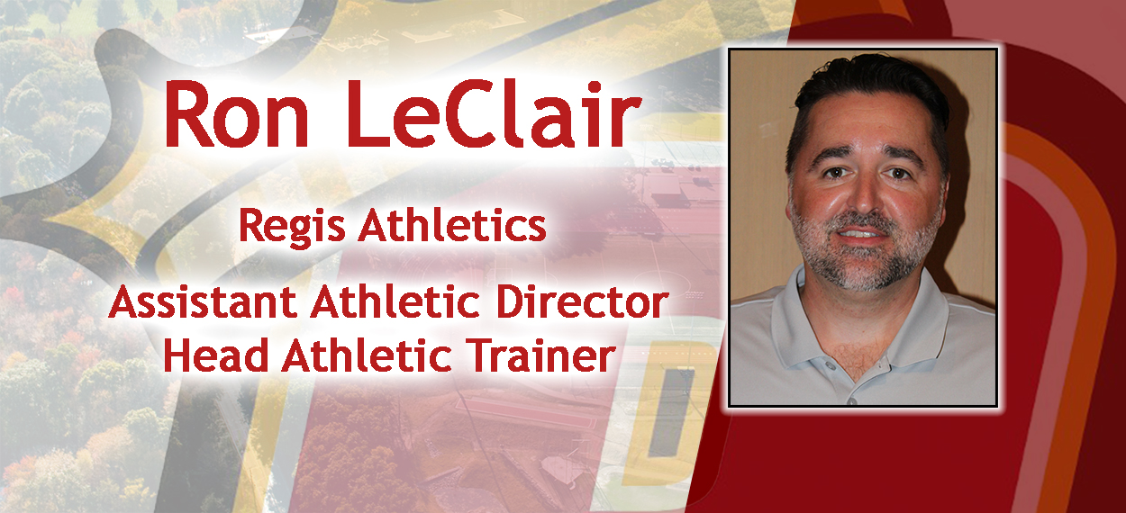 Regis Athletics Hires Ron LeClair As Head Athletic Trainer