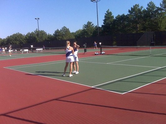 CUW Women's tennis picked for second by coaches
