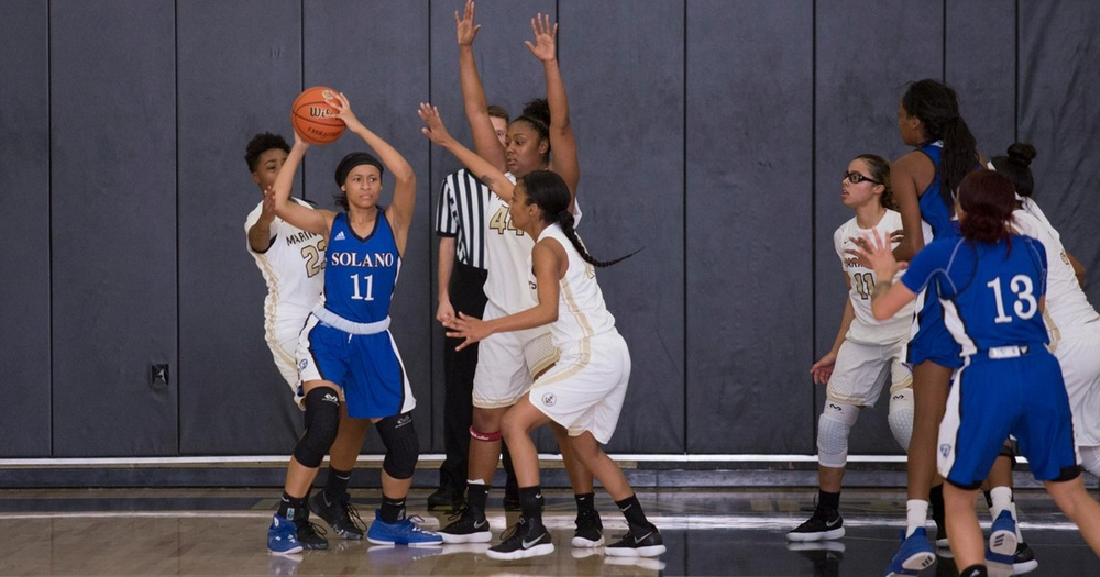 Marin Women's Basketball Guts out Road Win at Contra Costa 61-51