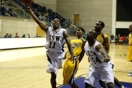 GSW rallies, tops Albany State, 56-52