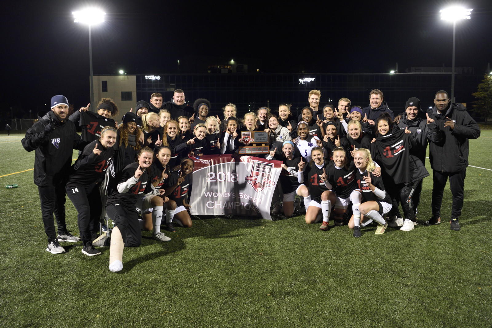 Bridgeport Women's Soccer Claims 2018 ECC Championship Tournament Crown With 2-1 Win Over LIU Post