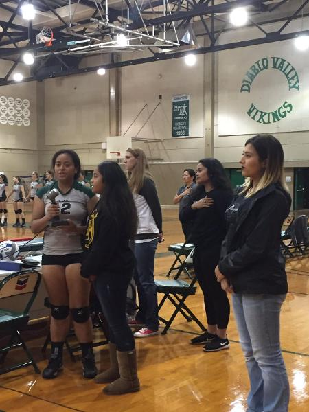 DVC Weekly Around the Horn - DVC VOLLEYBALL WORTH SINGING ABOUT