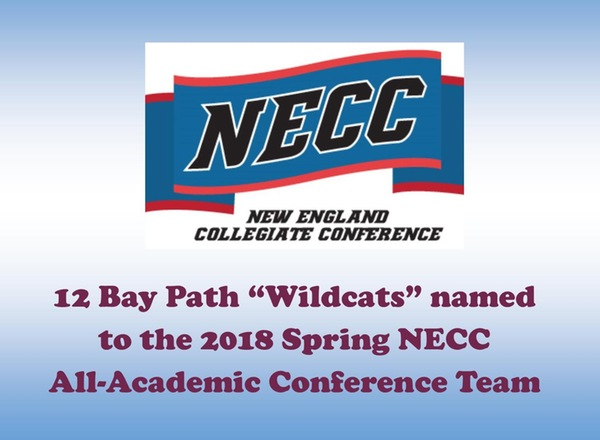Bay Path has 12 student-athletes named to the Spring 2018 NECC All-Academic team