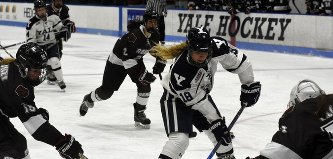 Vanstone's 4 point game leads Yale to win over Brown