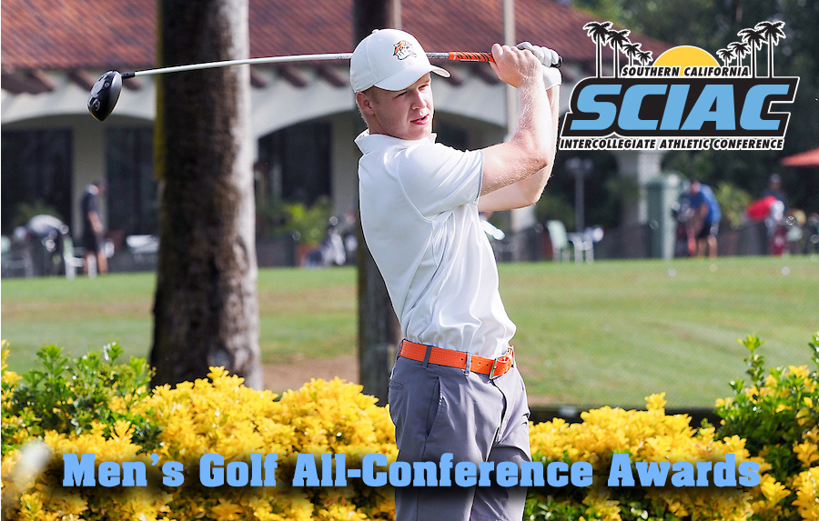 2017 Men's Golf All- Conference Team