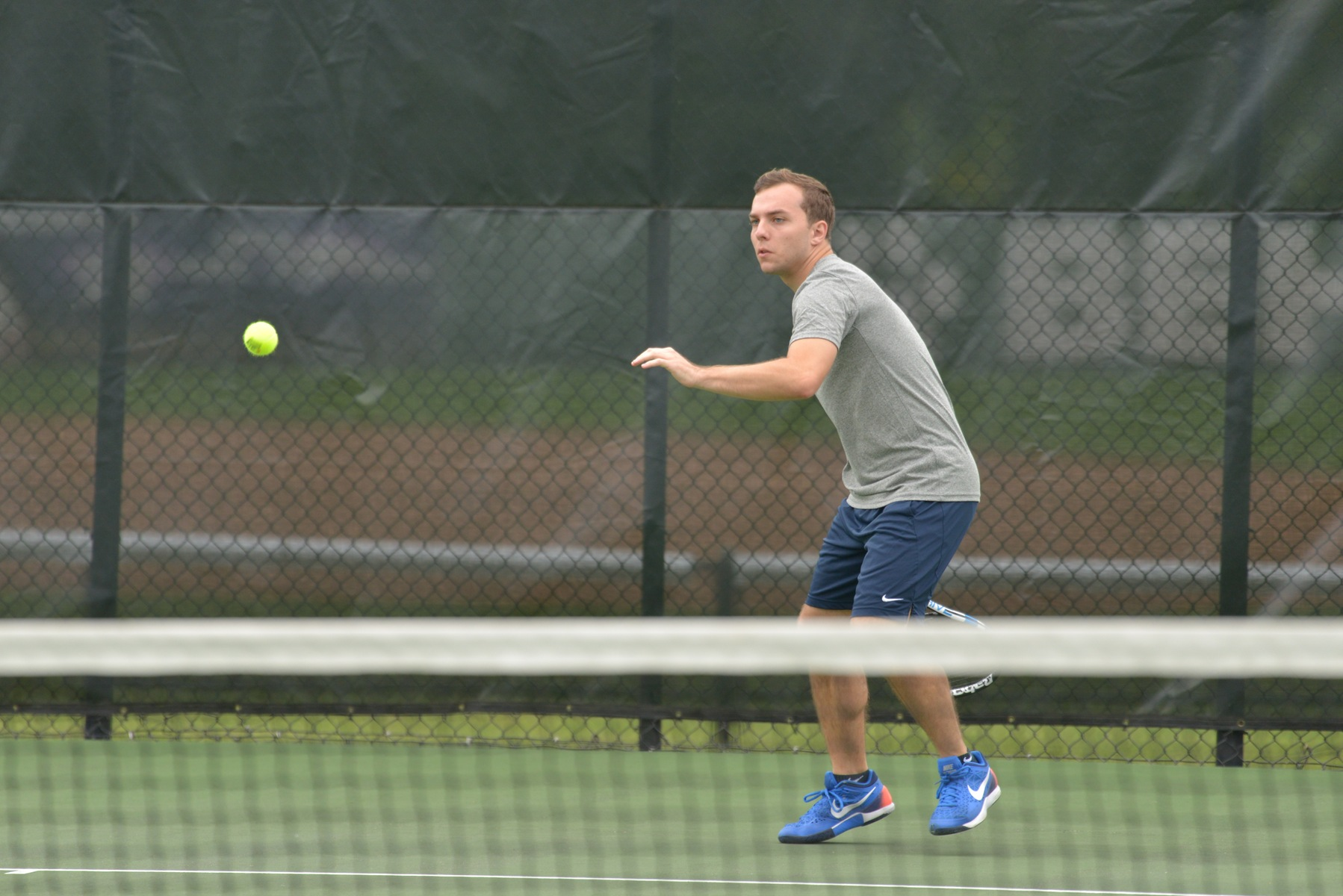 Men's Tennis Set For AMCC Matches This Weekend