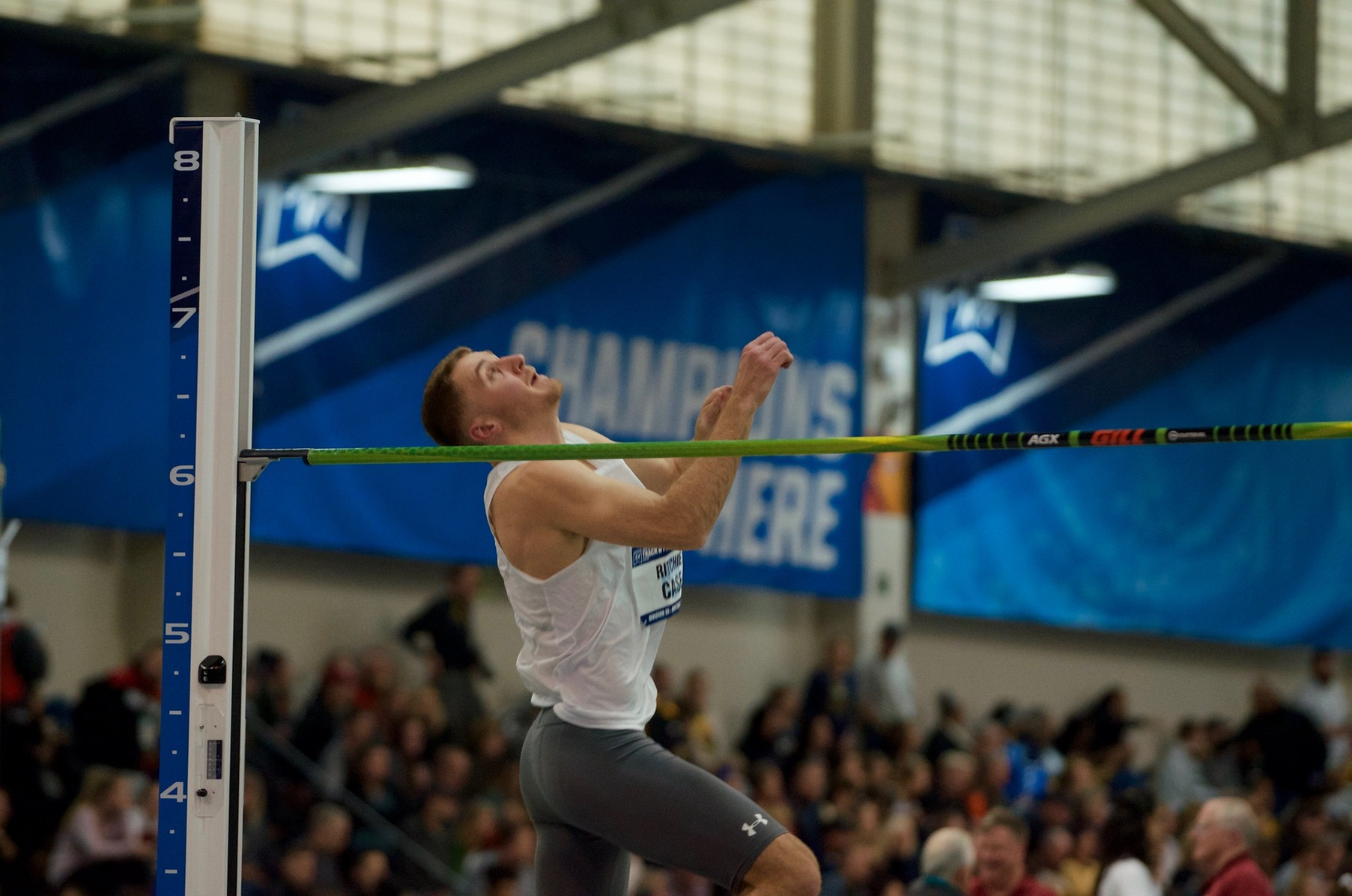 Case Leads Decathlon, Watson Takes Second in 10,000 on Day One of MAC Championships