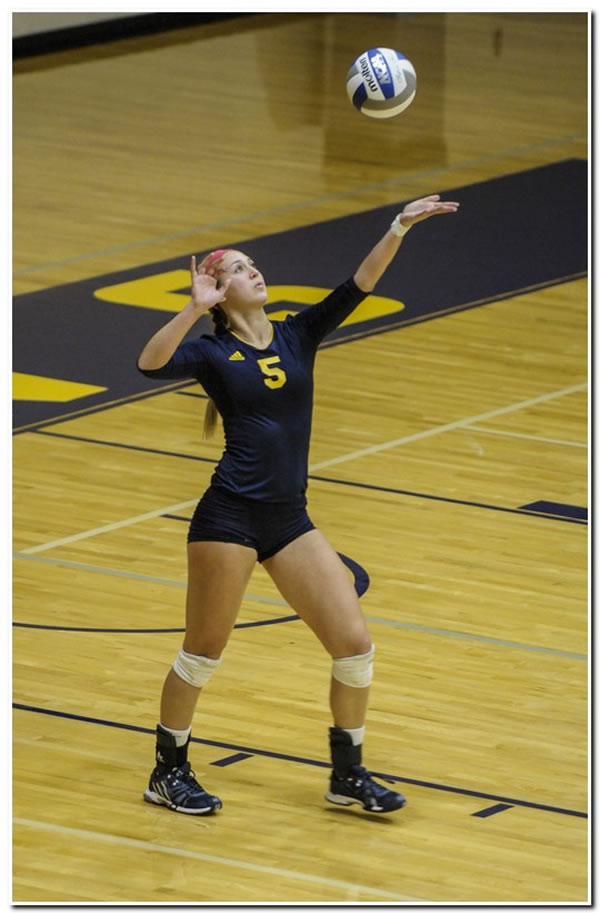 Mount women's volleyball team's 2014 season ends at home against Franklin College