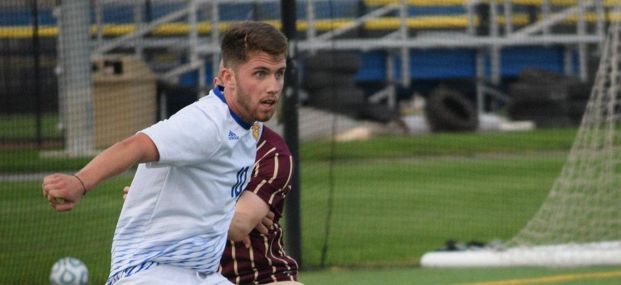 Drake's Hat Trick Powers JWU Past AMCATS 5-1
