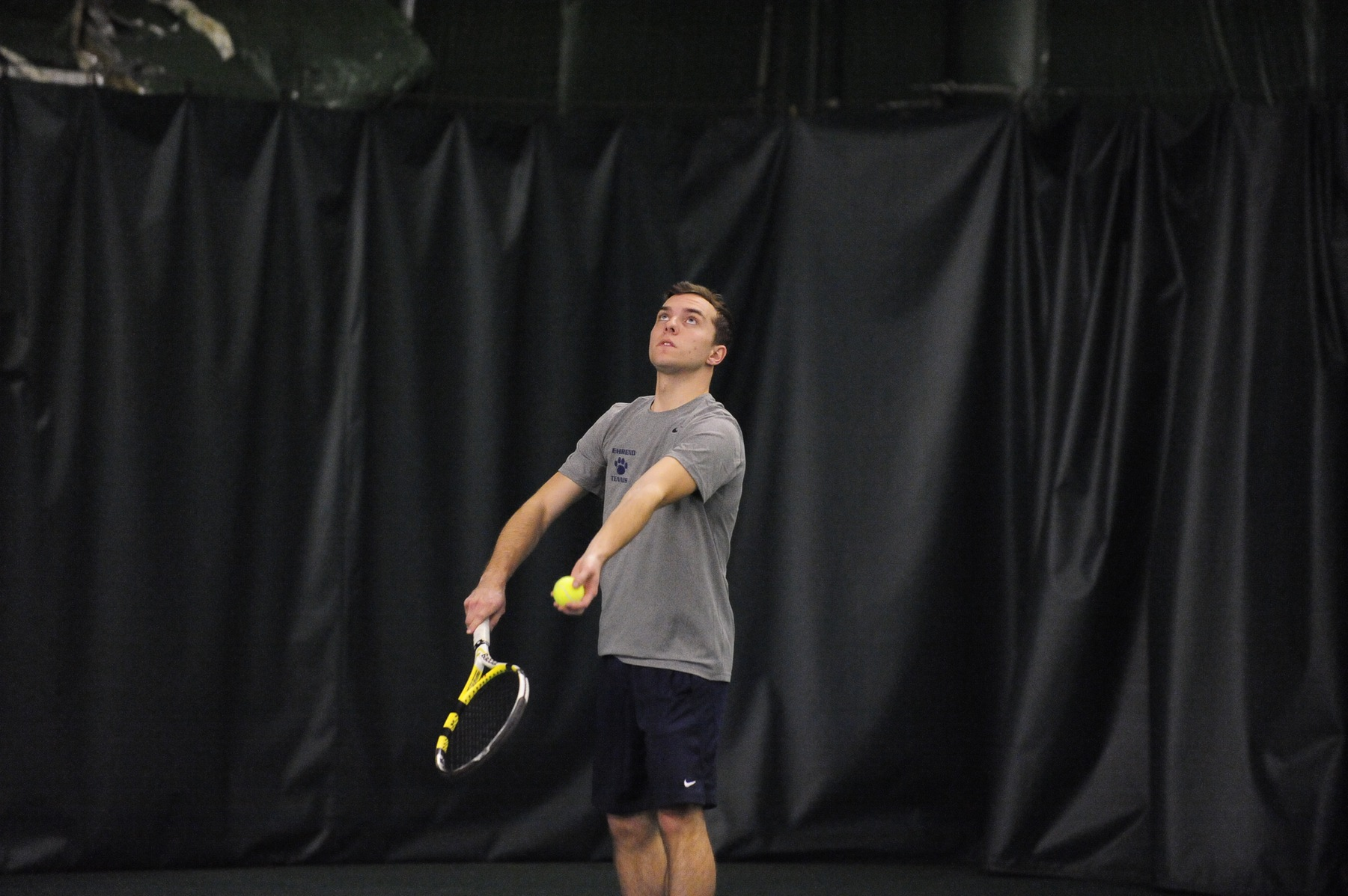 Men's Tennis Tops Lebanon Valley