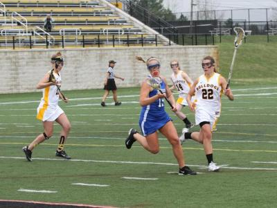 Women's Lacrosse Cruises to MWLC Final with 19-5 Win over Mt. St. Joseph