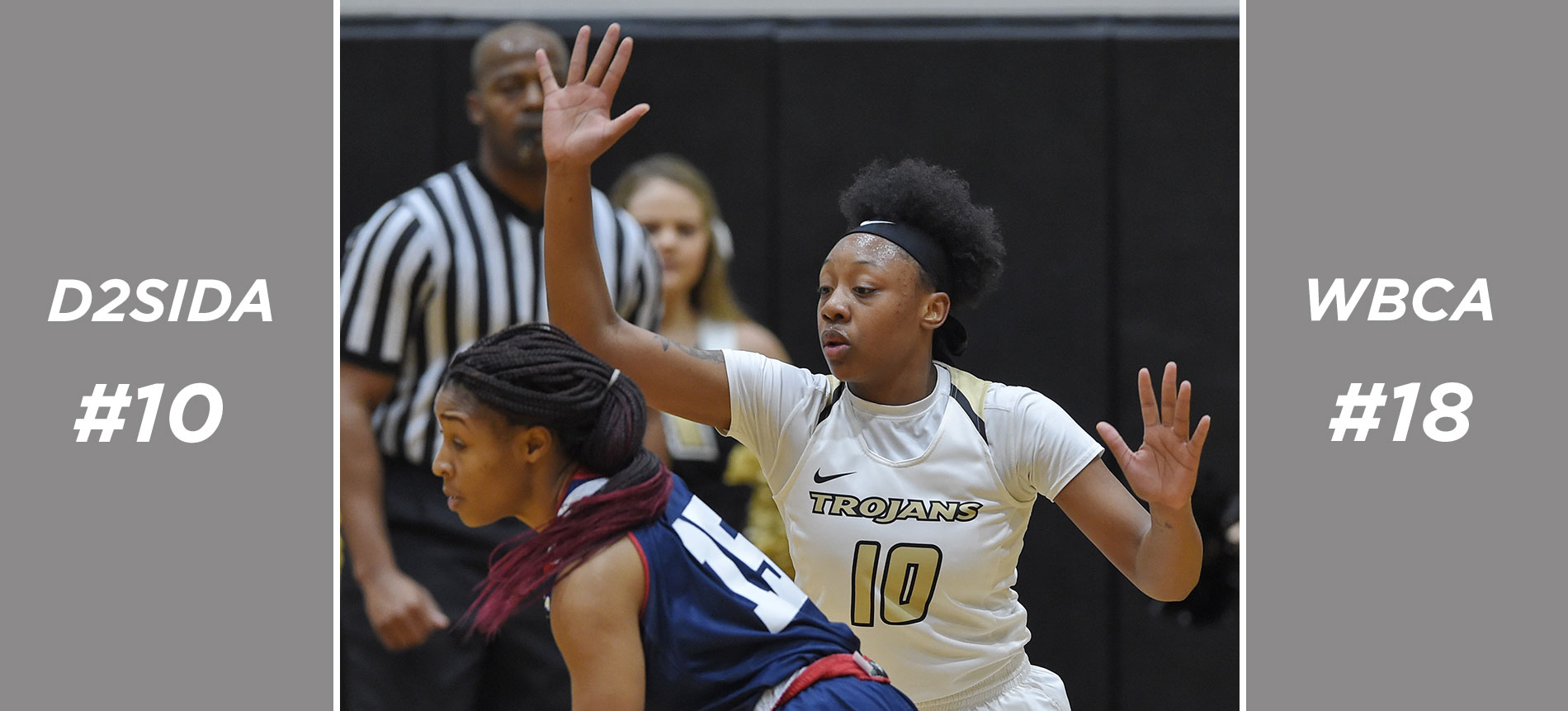 Women's Basketball Moves to No. 10 in D2SIDA National Poll; Jumps Up Two Spots to No. 18 in the WBCA