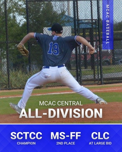 MCAC Baseball Central All-Division Honors