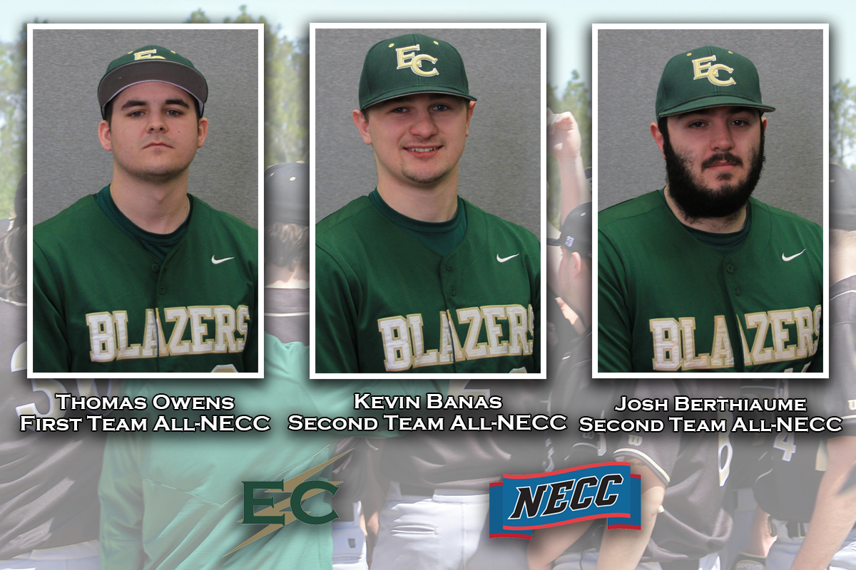 Owens, Banas, Berthiaume Earn All-NECC Recognition