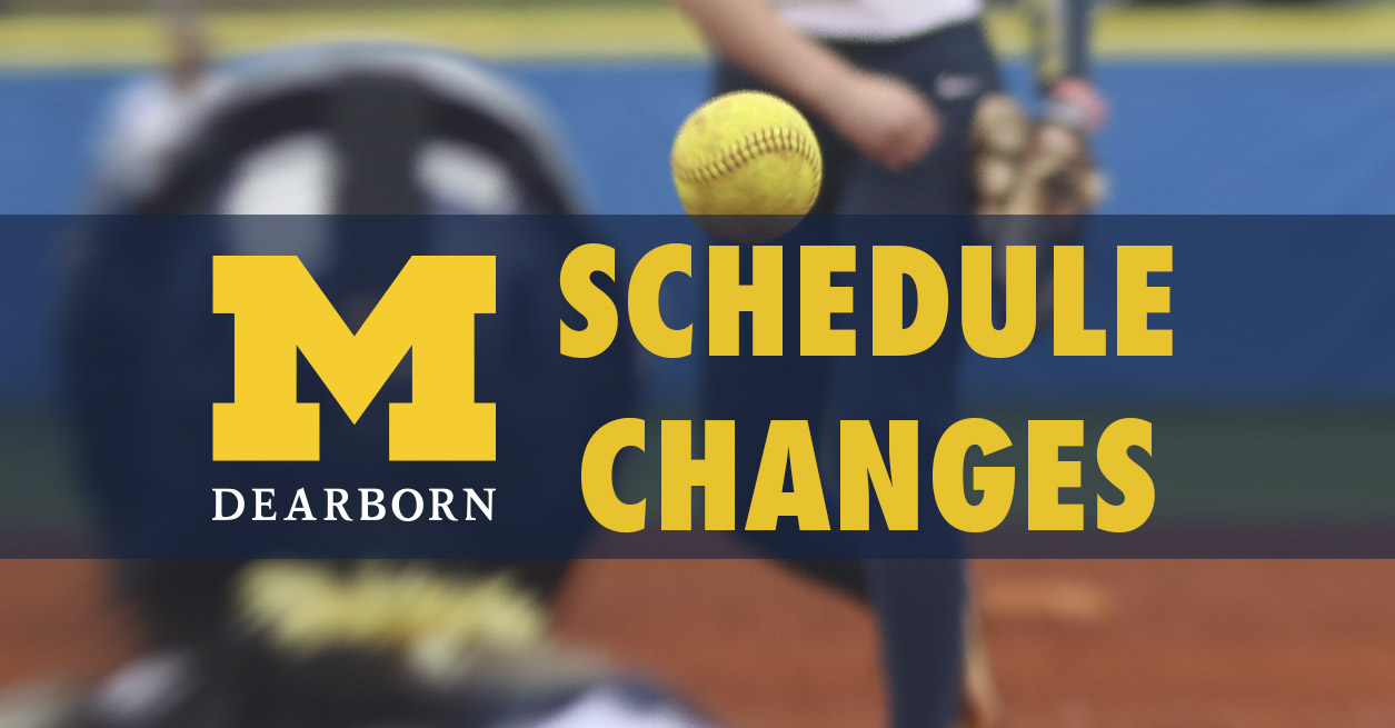 UPDATED: Schedule changes for this weekend