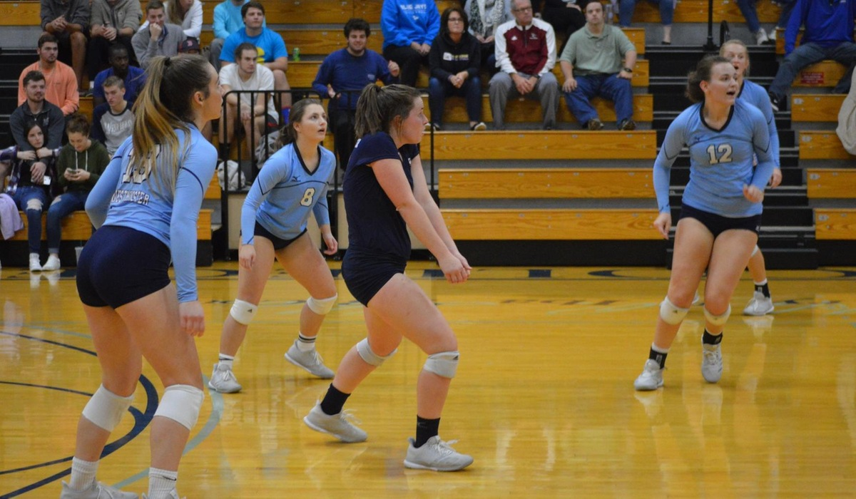 Westminster Volleyball Picks Up Win Over MacMurray