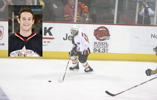 Former Leopard Standout Joey Sides '09 is Enjoying a Fine Career With the Arizona Sundogs (CHL)