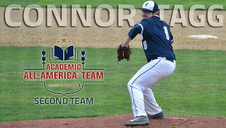CWRU Pitcher Connor Tagg Named to CoSIDA Academic All-America Team