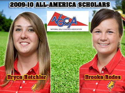 Two Women's Golf Student-Athletes Earn All-America Scholar Plaudits