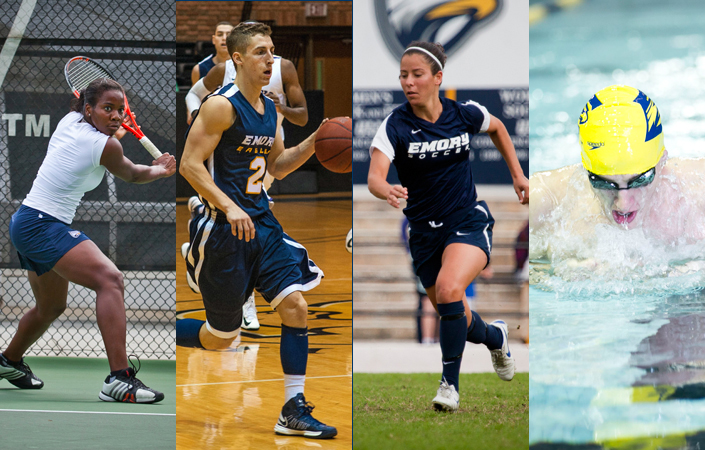 Emory Athletics Announces 2012-13 Award Winners