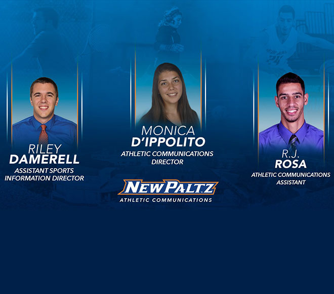 New Paltz hires new athletic communications team
