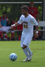 Geaton Caltabiano leads the nation with five assists.