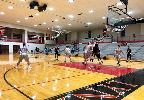 Blackburn Snaps Three Game Losing Streak with 87-78 Win over Rhodes
