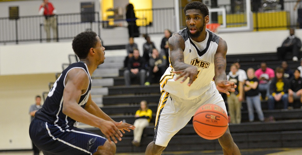 Sparrow Rains Down Six Treys, But Men's Basketball Runs Out of Time, Falls to Hartford, 65-63