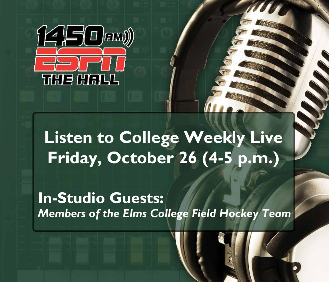 Bonavita, Goodrow, Frizzell to Appear on ESPN Radio-Springfield's College Weekly
