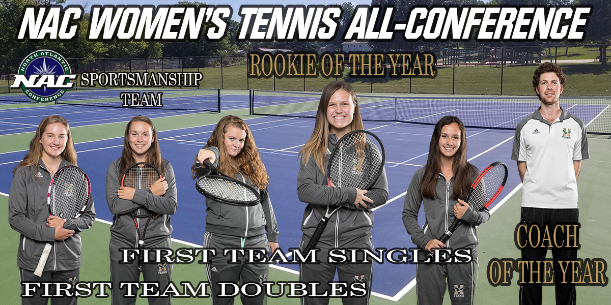 Five Eagles Recognized to NAC Women's Tennis All-Conference Team