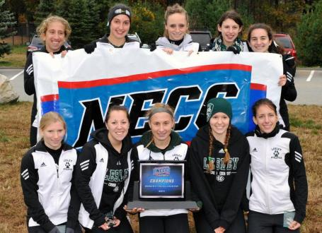 Lesley Sweeps Men's, Women's Titles at Annual NECC Cross Country Championships