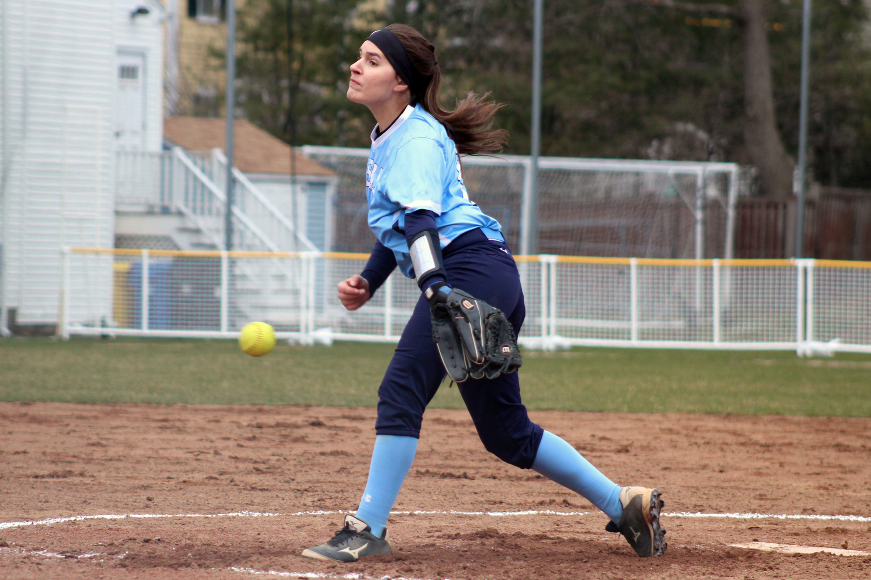 Lasell Softball drops pair at Eastern Nazarene