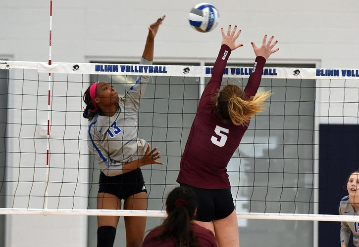 Blinn's Jayde Shelton Named Region XIV Volleyball Player Of The Year