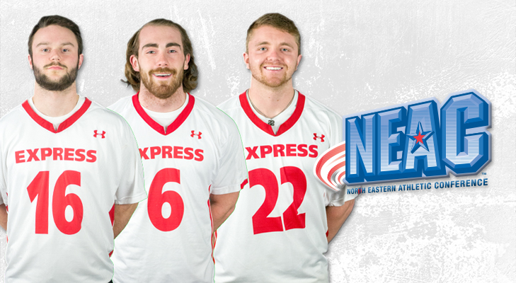 Three Earn NEAC Men's Lacrosse All-Conference Awards