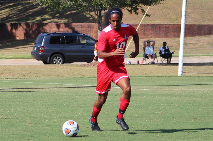 Men's Soccer: Panthers play William Peace to 1-1 tie in USA South match